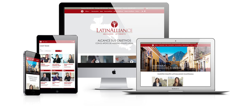 LatinAlliance website