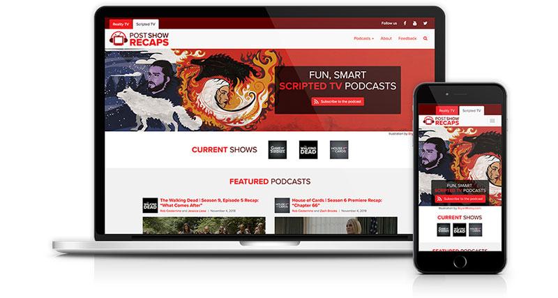 Post Show Recaps website